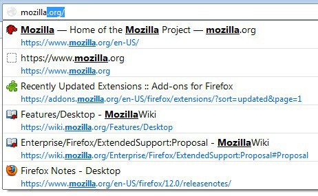 firefox search highlighting