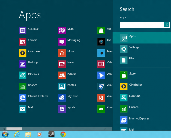 windows 8 start8 start menu