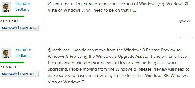 windows 8 upgrade details