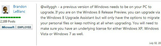 windows 8 upgrades