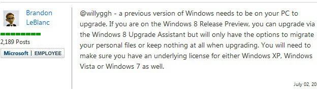 windows 8 upgrades
