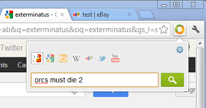 chrome search all