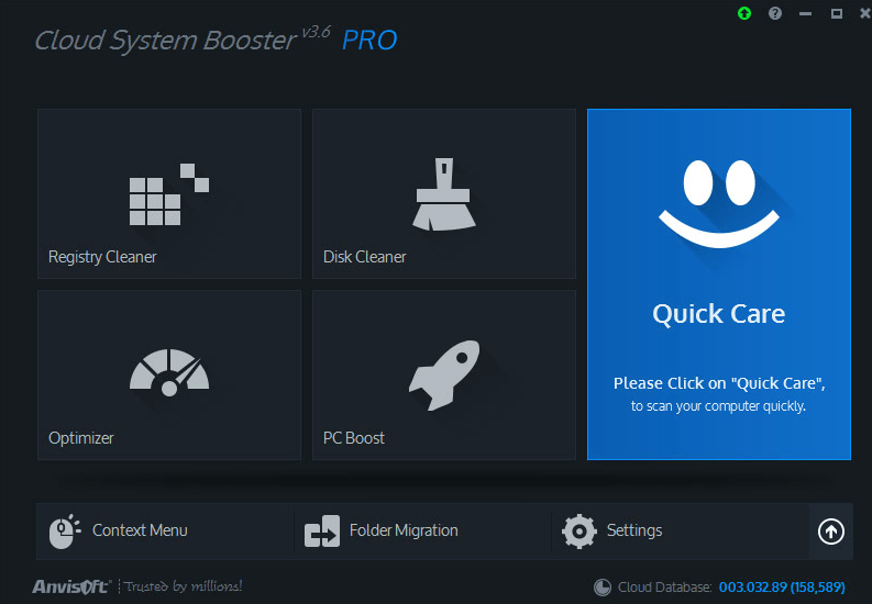 cloud system booster pro