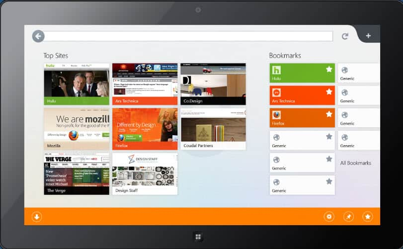 Mozilla To Release Firefox Version For Windows 8 Metro UI