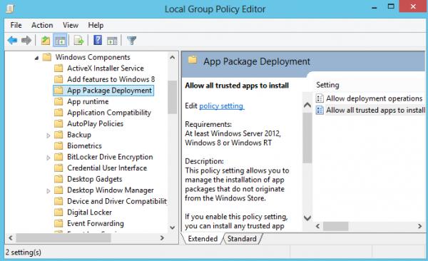 install non store apps windows 8