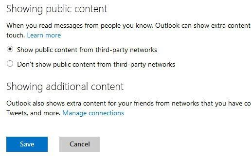 show public content