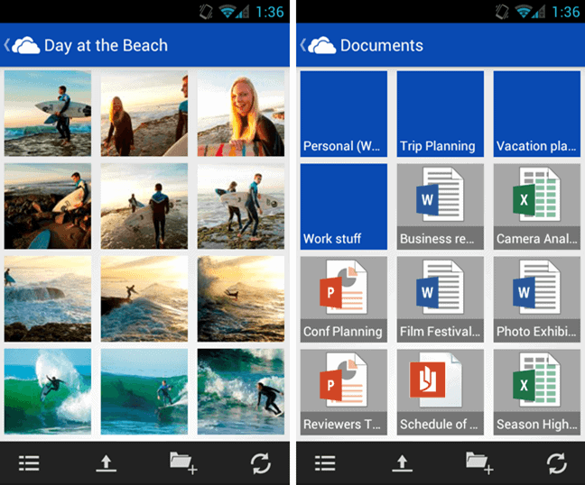 SkyDrive app for Android incoming, big update today - gHacks Tech News