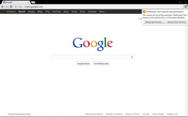 google chrome extension updates