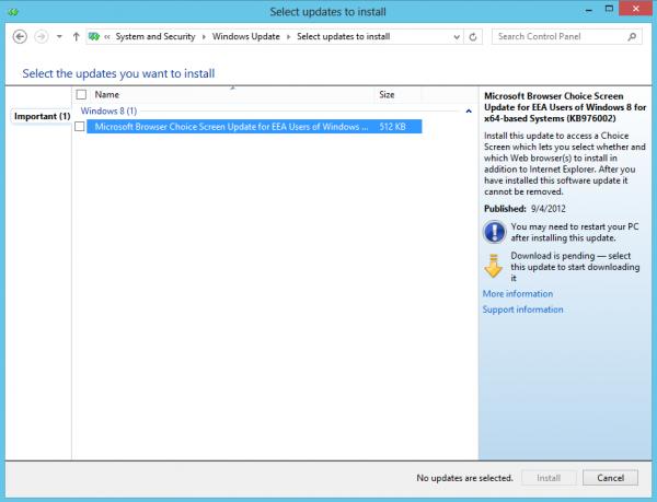 microsoft browser choice screen