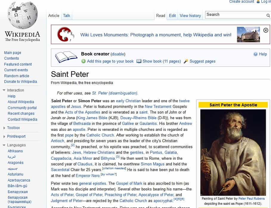 Wikipedia Book Creator now supporting epub format - gHacks Tech News
