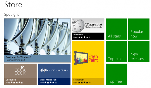 windows 8 store release preview