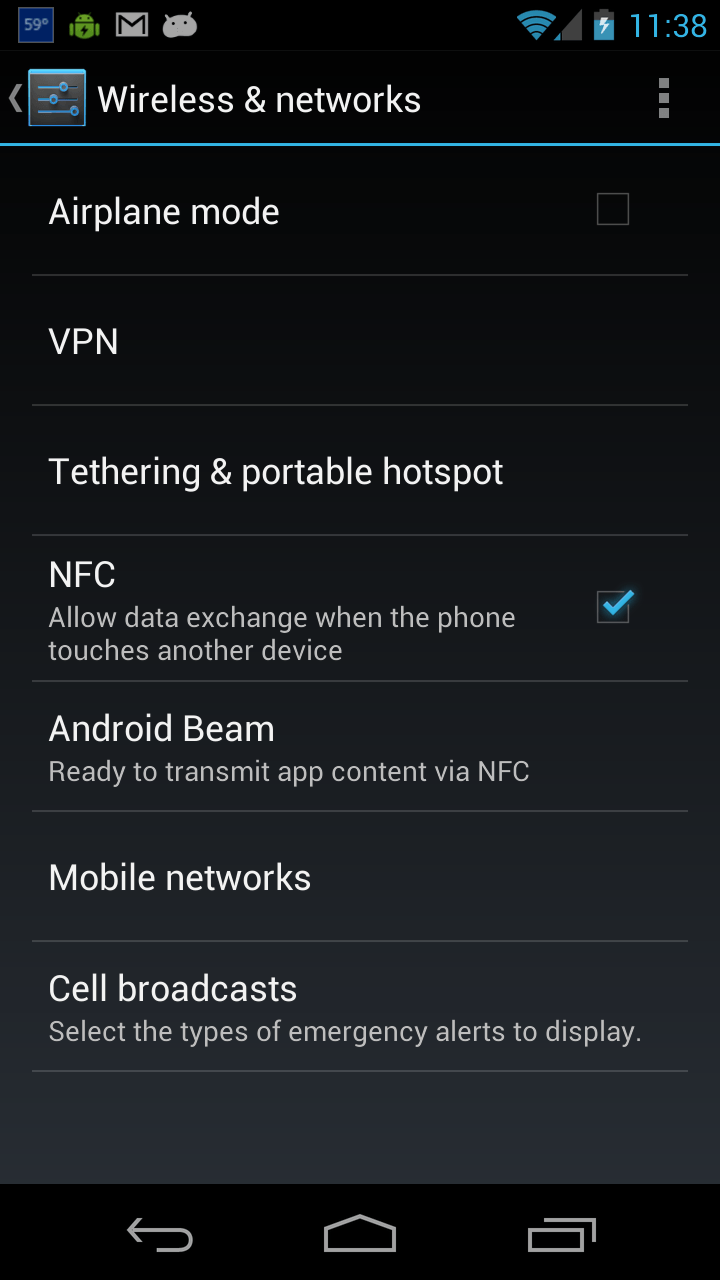 Turn Off NFC on your Android Phone to Save Battery and Make