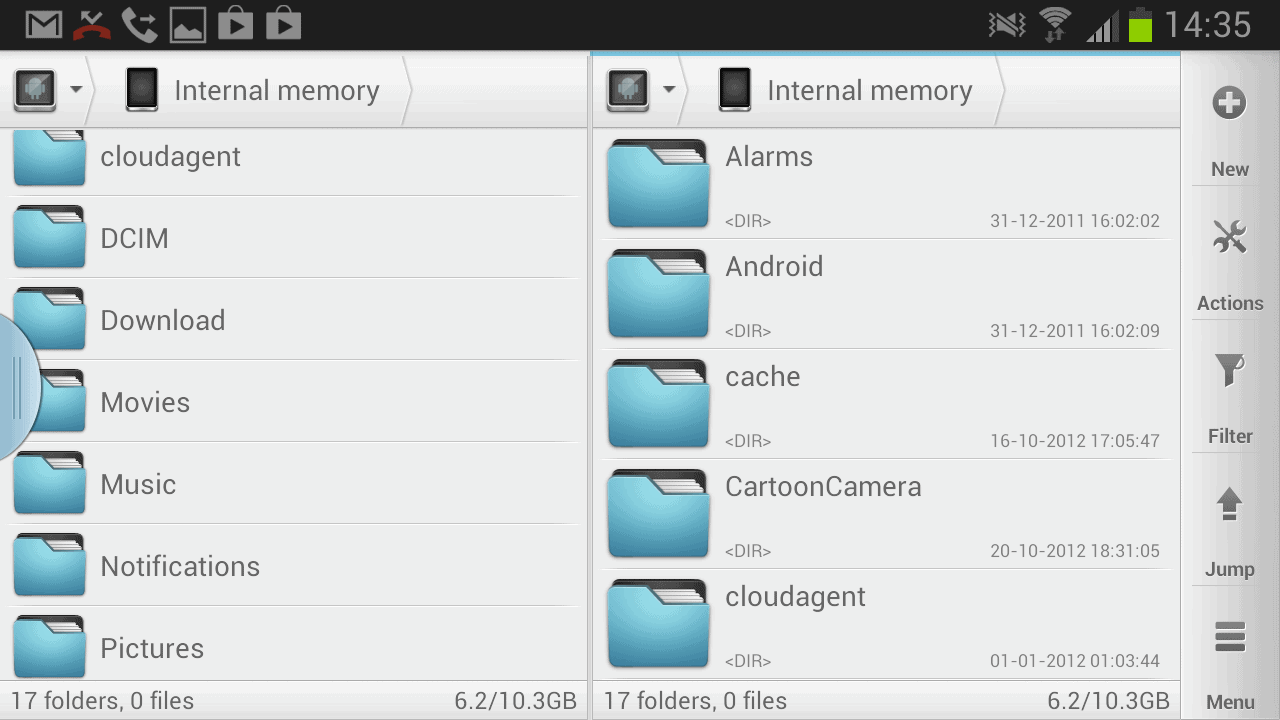 Solid Explorer is an Android file manager with cloud support
