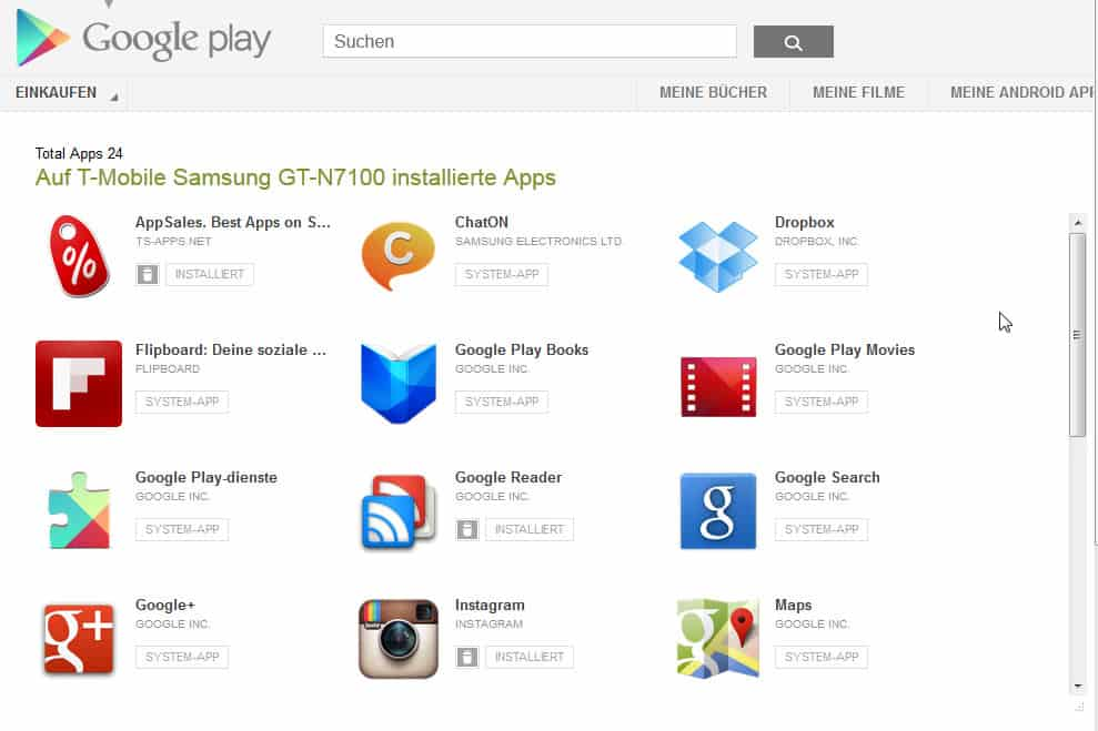google play android apps