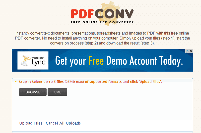 html document to pdf converter online