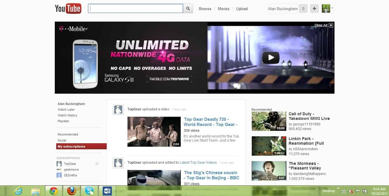 YouTube is Testing Another New Interface - gHacks Tech News