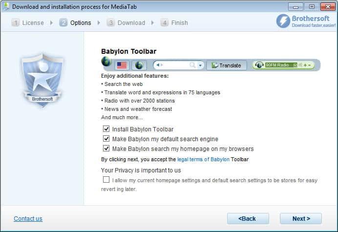 brothersoft web downloader