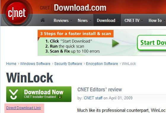 cnet download.com direct download