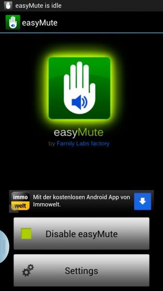 easy mute
