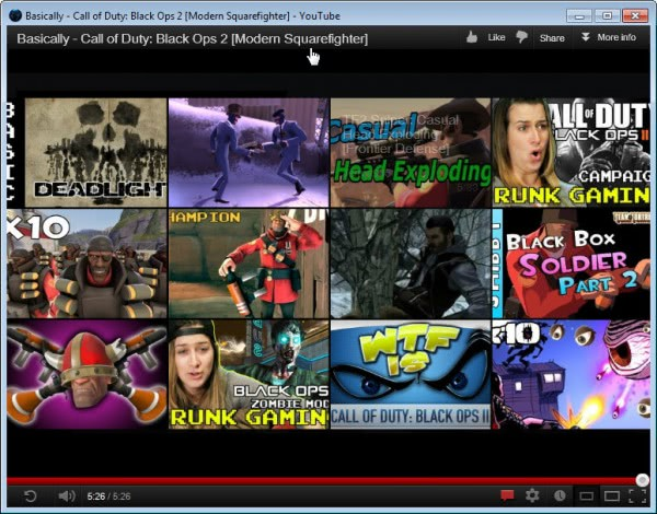 firefox watch web videos