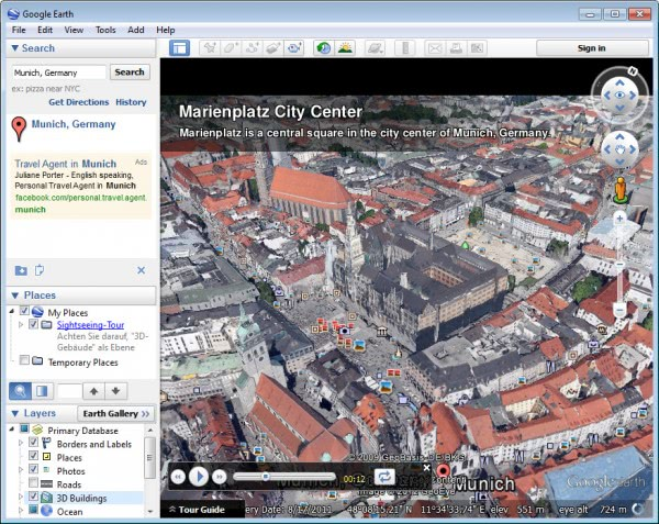 google earth 3d imagery