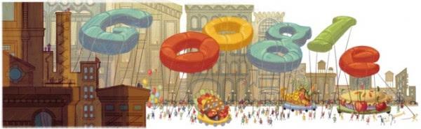 google thanksgiving doodle