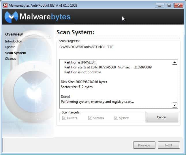 malwarebytes anit-rootkit beta