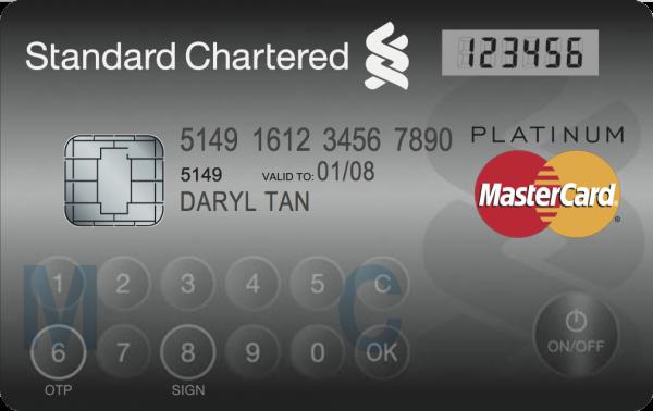 mastercard display card