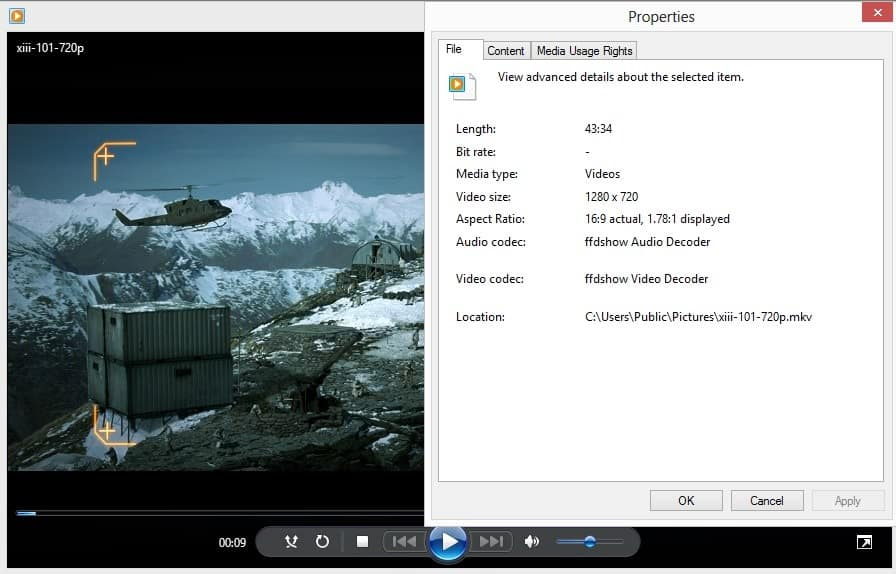 how do i play flv files on windows 8