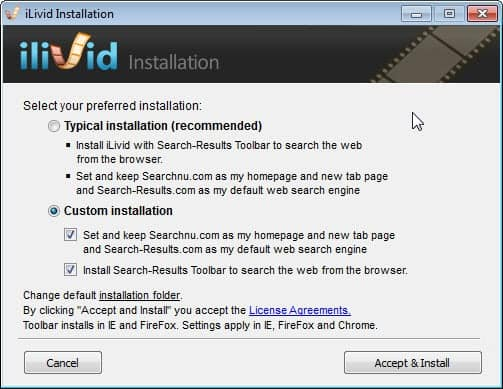 How to remove http://www searchnu com/406 from your browser