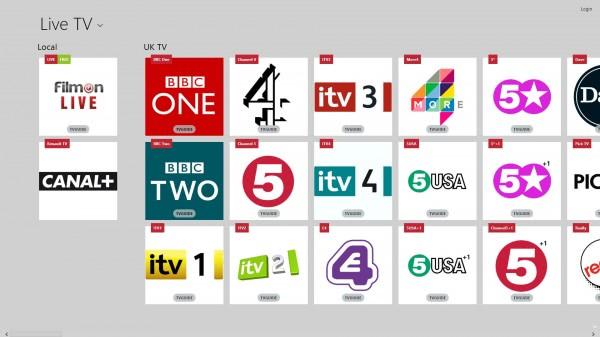 watch tv pc