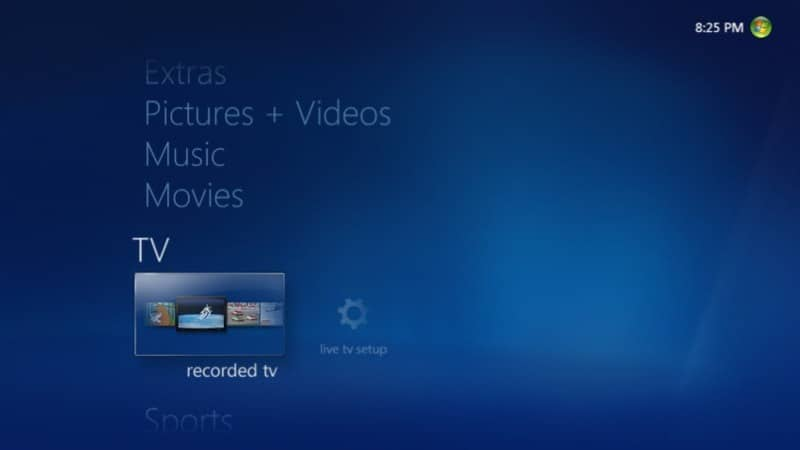 Windows 8 Media Center does not support Blu-Ray