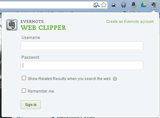 "Evernote adds ""Related Results"" to its Chrome app"