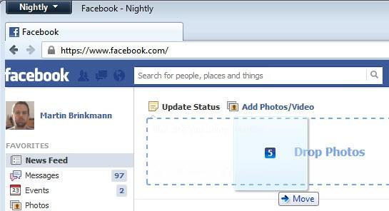 facebook upload photos