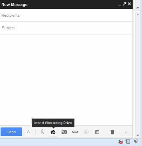 gmail google drive attachment