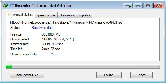 internet download manager speed