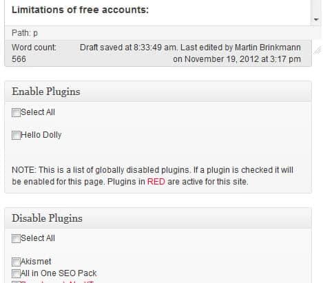 wordpress plugin load order