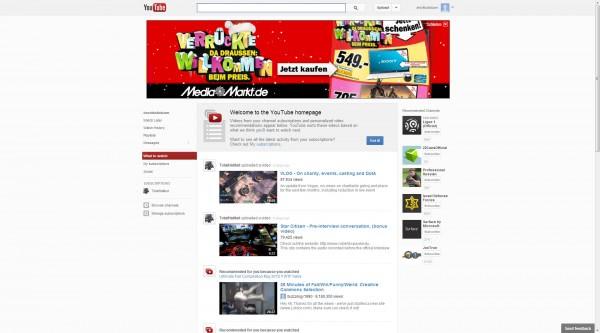 youtube center align