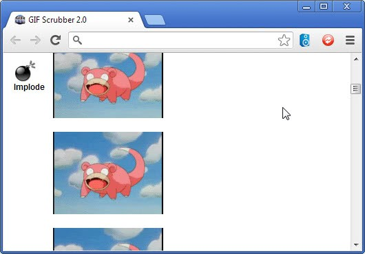 Extract Frames from animated gifs with Gif Scrubber - gHacks Tech News