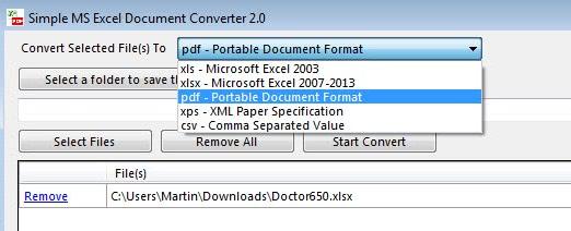 convert excel spreadsheets