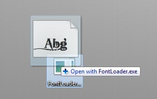 install fonts