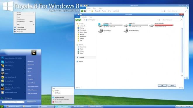 royale 8 for windows 8 pro screenshot