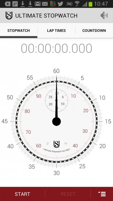 ultimate stopwatch timer