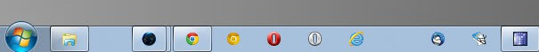 windows taskbar separator
