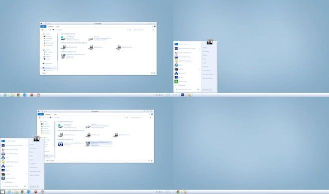winter8 theme screenshot