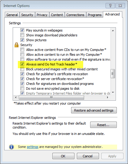 IE10 do not track screenshot