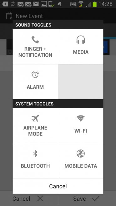 android turn off sounds on schedule
