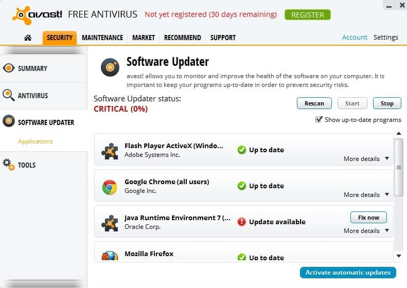 Avast! Free Antivirus 8 has been released - gHacks Tech News