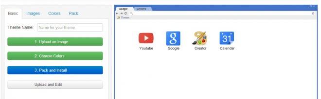 chrome theme creator screenshot