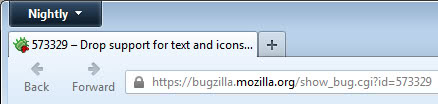firefox icons text screenshot